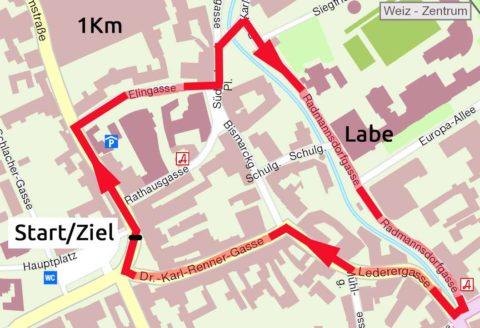 Hauptlauf Hobbylauf Cityrun Weiz Firmenlauf Energielauf